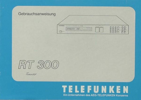 Telefunken RT 300 Bedienungsanleitung