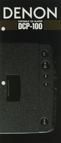 Denon DCP-100 Prospekt / Katalog
