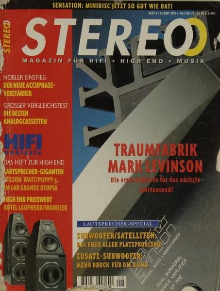 Stereo 8/1995 Zeitschrift