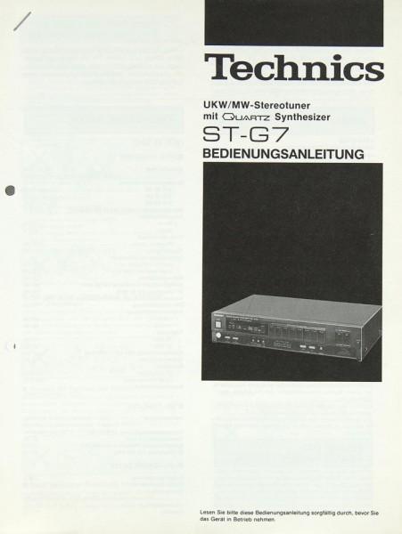 Technics ST-G 7 Bedienungsanleitung