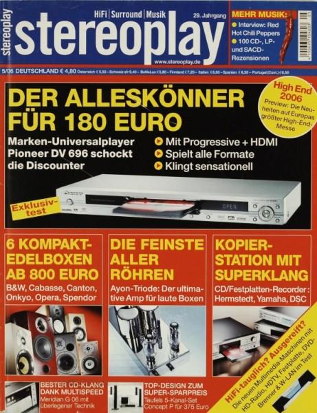 Stereoplay 5/2006 Zeitschrift