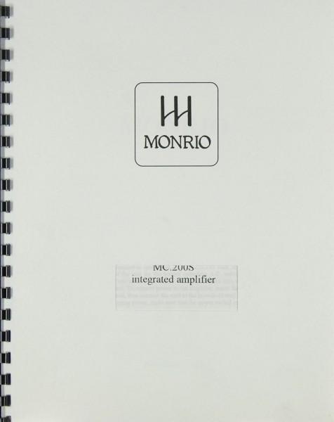 Monrio MC.200 S Bedienungsanleitung