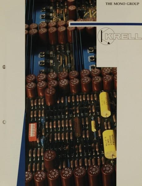 Krell The Mono Group Prospekt / Katalog