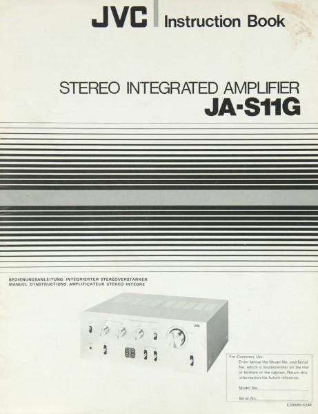 JVC JA-S 11 G Bedienungsanleitung