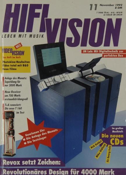 Hifi Vision 11/1992 Zeitschrift