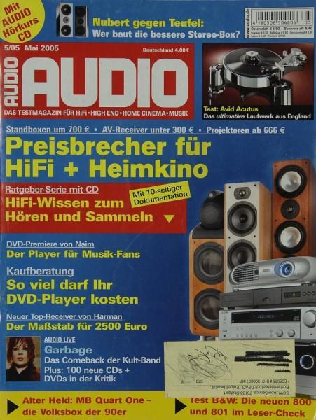 Audio 5/2005 Zeitschrift