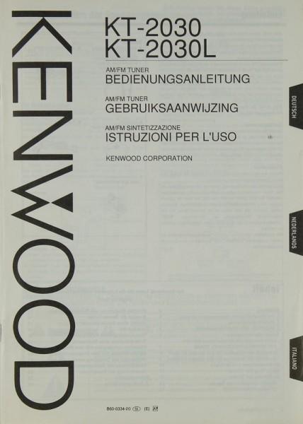 Kenwood KT-2030 / 2030 L Bedienungsanleitung