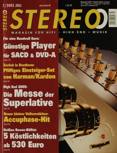 Stereo 7/2005 Zeitschrift