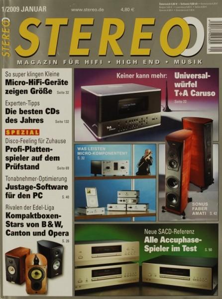 Stereo 1/2009 Zeitschrift
