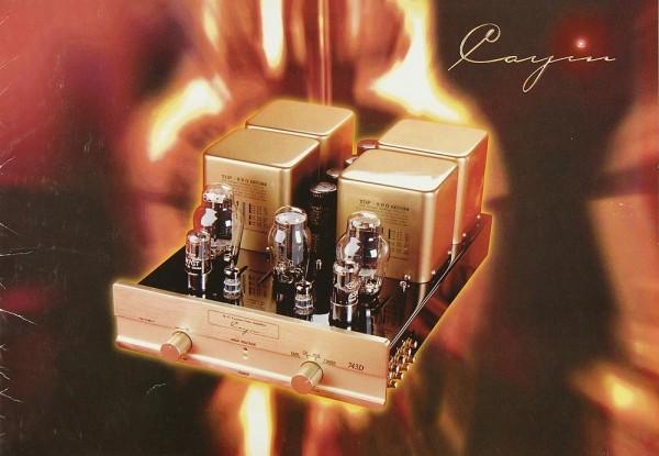 Cayin 9021 D / 9030 D / 743 D Prospekt / Katalog