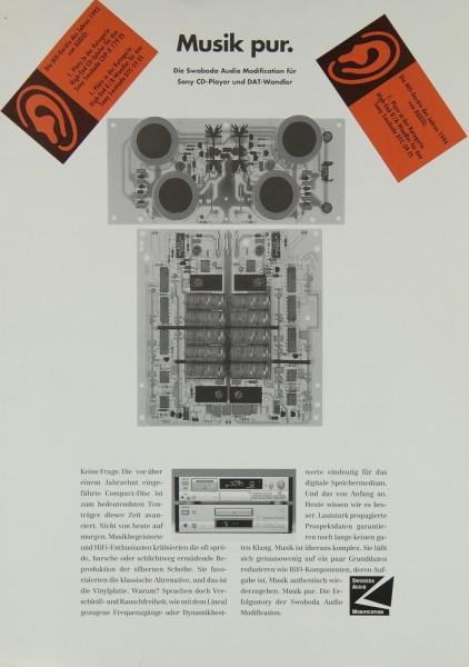 Swoboda Modification für Sony Prospekt / Katalog