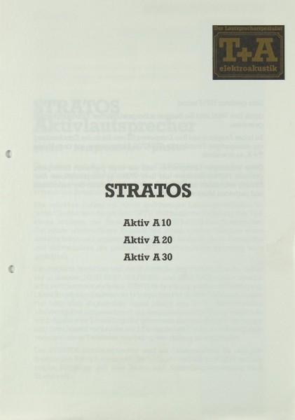T + A Stratos Aktiv A 10 / A 20 / A 30 Bedienungsanleitung