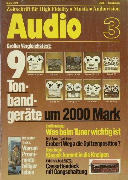 Audio 3/1979 Zeitschrift