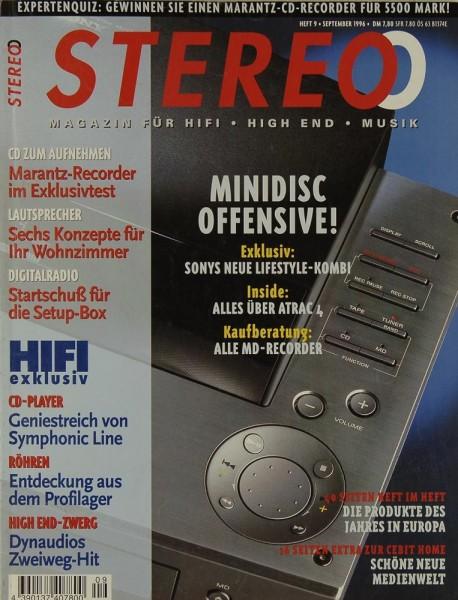Stereo 9/1996 Zeitschrift