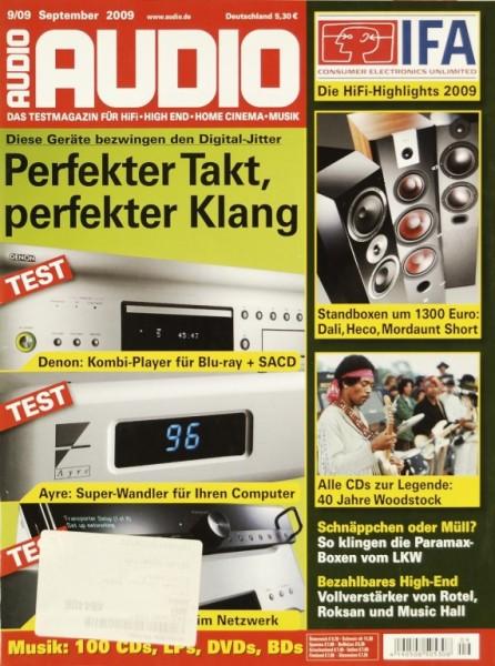 Audio 9/2009 Zeitschrift