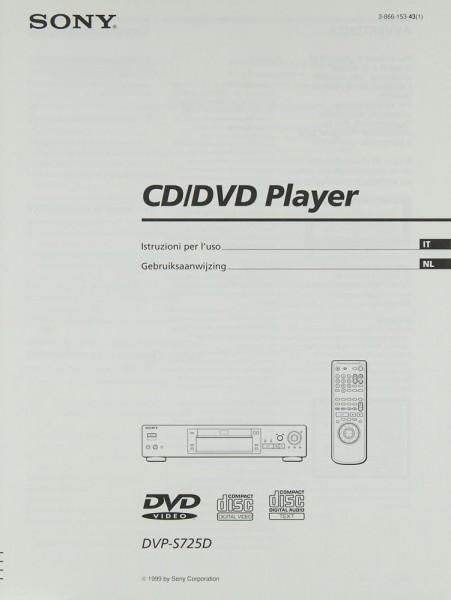 Sony DVP-S 725 D Bedienungsanleitung