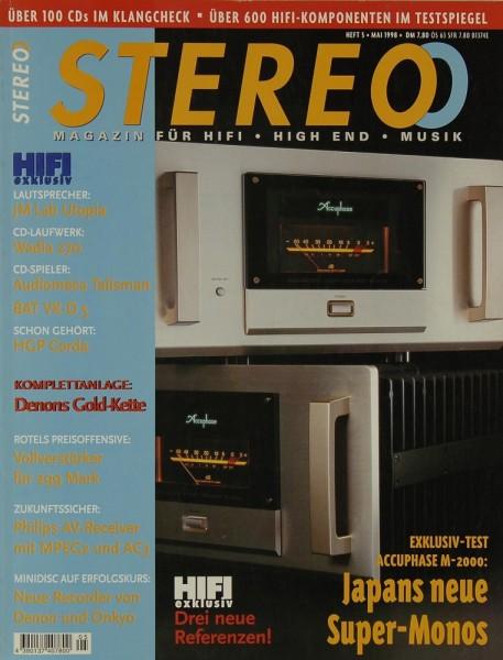 Stereo 5/1998 Zeitschrift