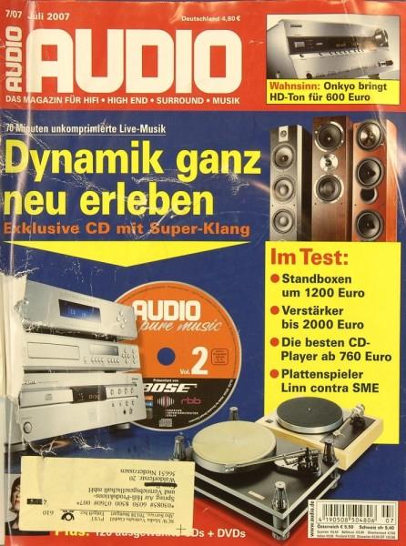 Audio 7/2007 Zeitschrift