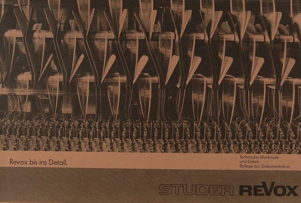 Revox 1981 - Revox bis ins Detail Prospekt / Katalog