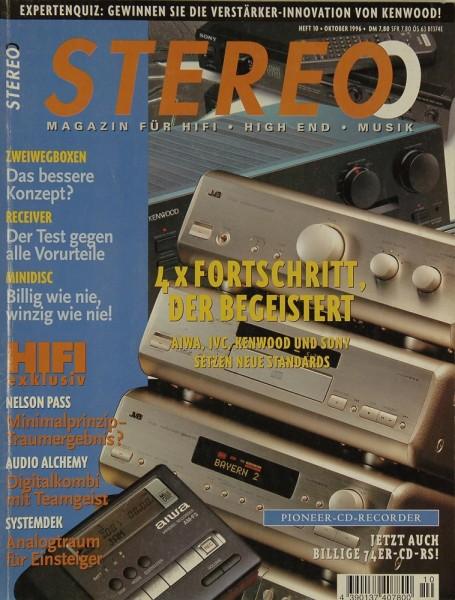 Stereo 10/1996 Zeitschrift