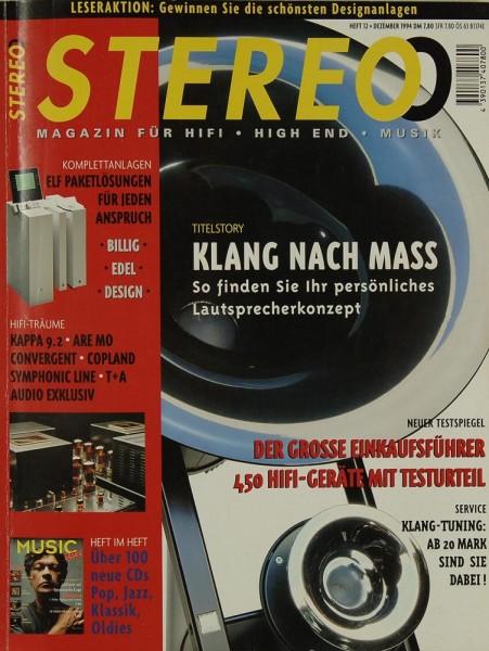 Stereo 12/1994 Zeitschrift