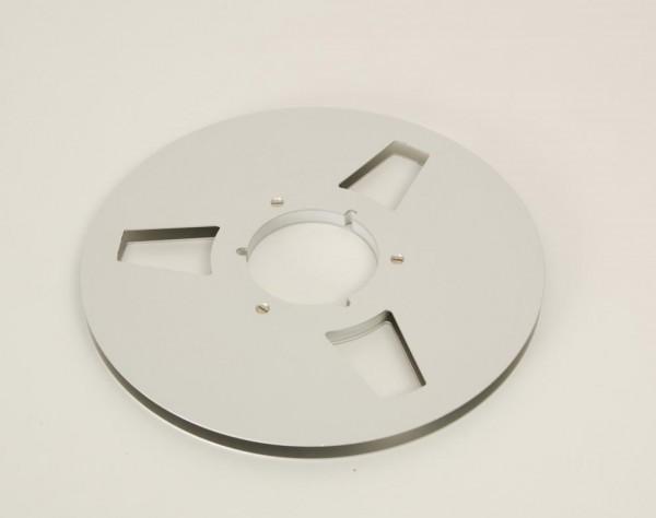 Agfa Gevaert 27er Leerspule Metall silbern