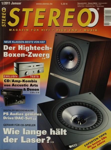 Stereo 1/2011 Zeitschrift