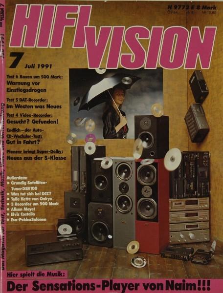 Hifi Vision 7/1991 Zeitschrift