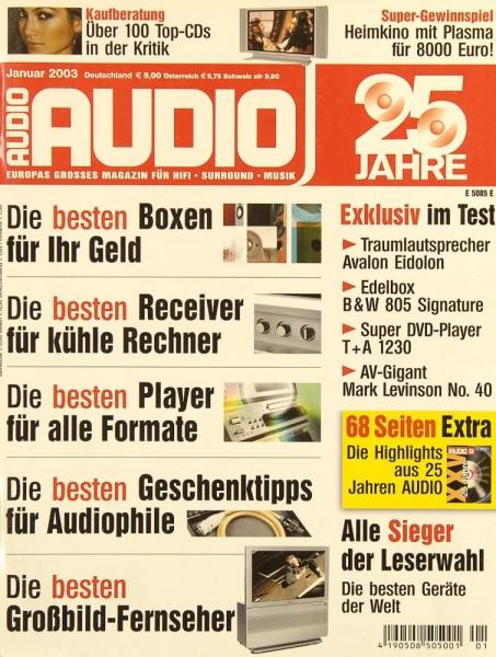 Audio 1/2003 Zeitschrift