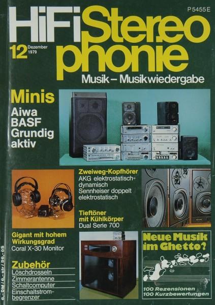 Hifi Stereophonie 12/1979 Zeitschrift