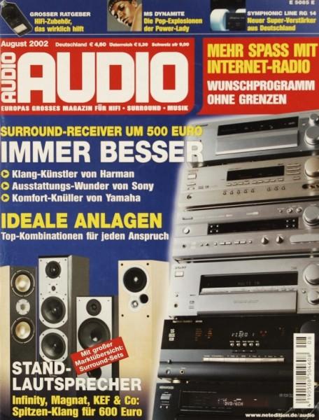 Audio 8/2002 Zeitschrift
