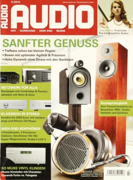 Audio 3/2012 Zeitschrift