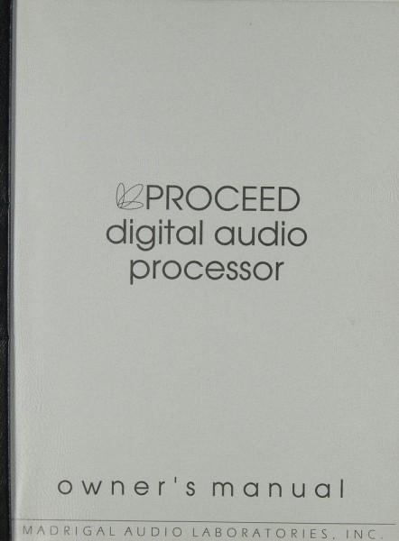 Proceed DAP Bedienungsanleitung