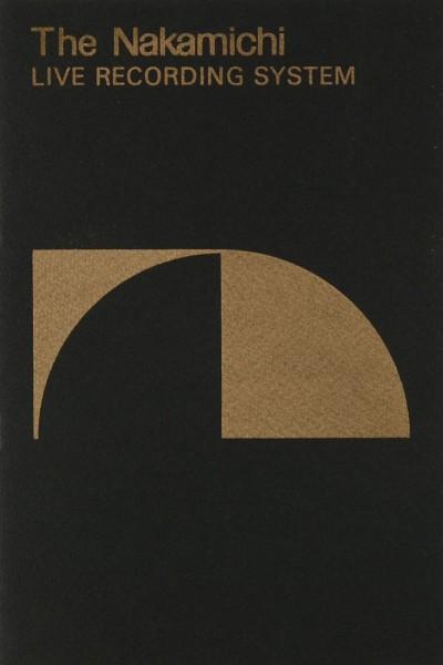 Nakamichi Live Recording System Prospekt / Katalog