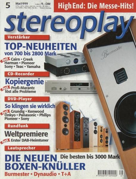 Stereoplay 5/1999 Zeitschrift