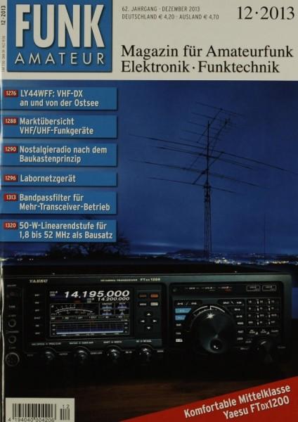 Funkamateur 12/2013 Zeitschrift
