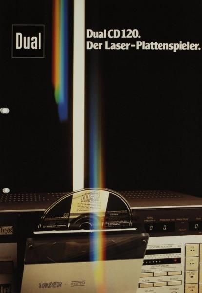 Dual CD 120 Prospekt / Katalog