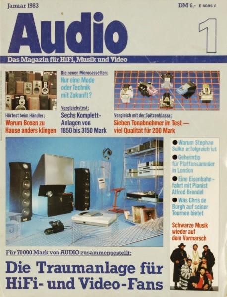 Audio 1/1983 Zeitschrift