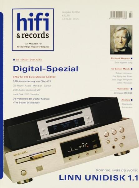 Hifi & Records 3/2004 Zeitschrift