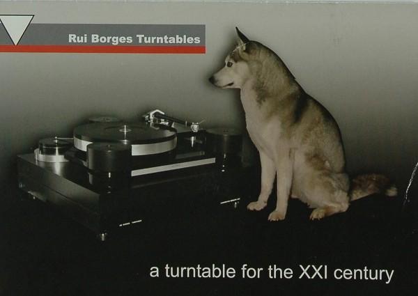 Rui Borges A Turntable for the XXI Century Prospekt / Katalog