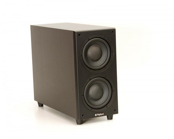Highland Audio Dord 265 Subwoofer schwarz
