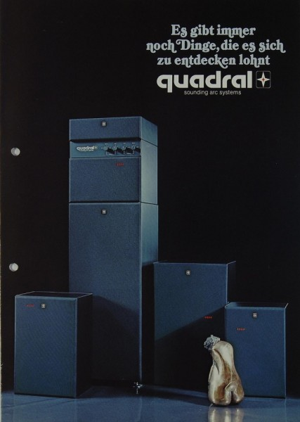 Quadral aq 3 / aq 5 / aq 9 / aq 11 Prospekt / Katalog