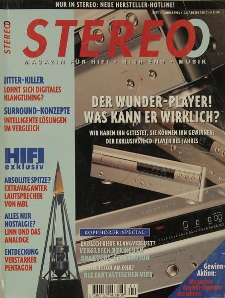 Stereo 1/1996 Zeitschrift