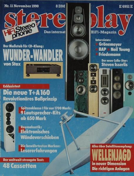 Stereoplay 11/1990 Zeitschrift