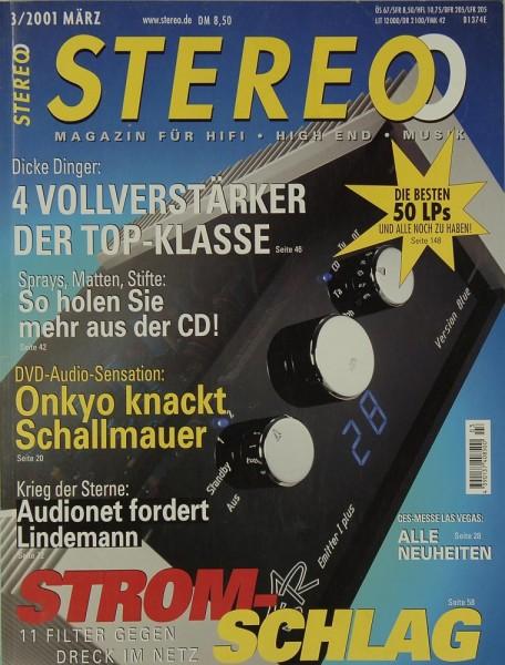Stereo 3/2001 Zeitschrift