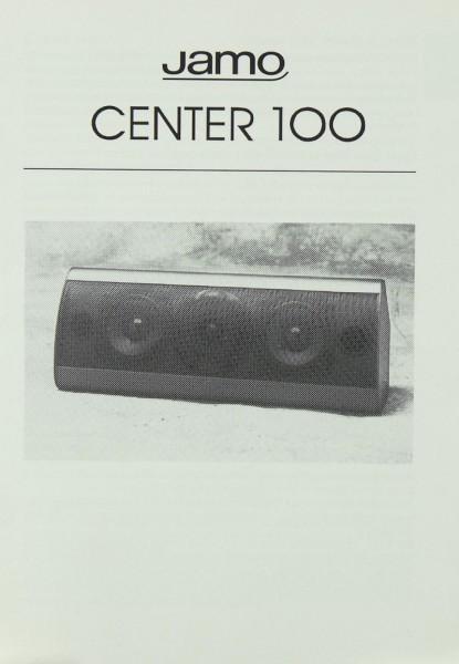 Jamo Center 100 Bedienungsanleitung