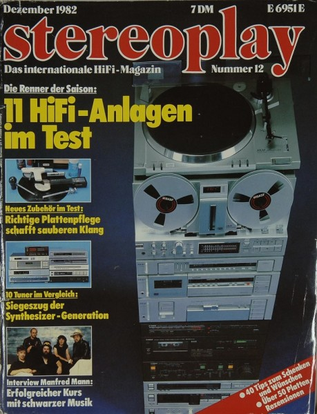 Stereoplay 12/1982 Zeitschrift