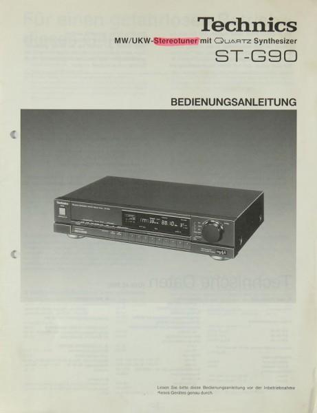 Technics ST-G 90 Bedienungsanleitung