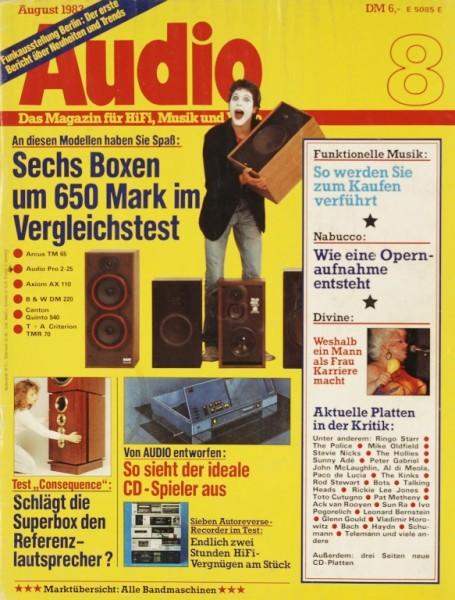 Audio 8/1983 Zeitschrift