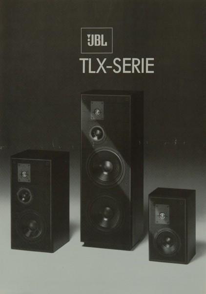 JBL TLX-Serie Prospekt / Katalog